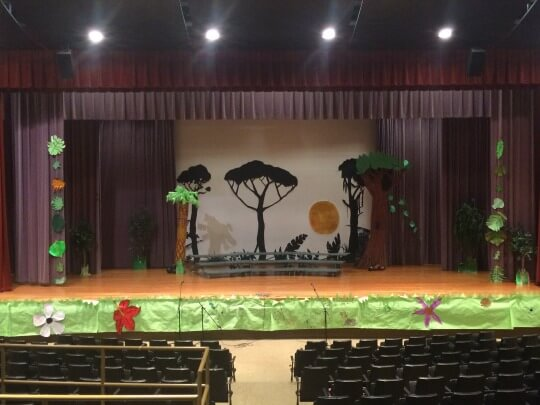 picture of the jungle book stage